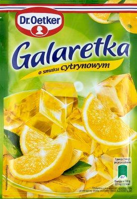 Dr.Oetker galaretka  cytrynowa