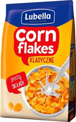 Lubella Corn Flakes płatki śniadaniowe kukurydziane