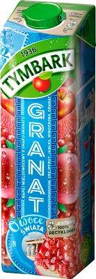 Tymbark Owoce Świata napój granat z jabłkiem. grejpfrutem i winogronami