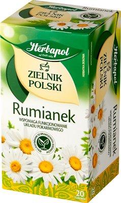 Herbapol herbata ziołowa 20 torebek rumiankowa