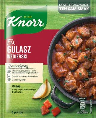 Fix Knorr sos w proszku do gulaszu