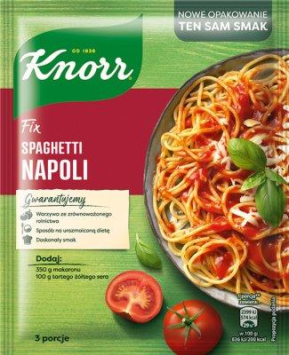 Fix Knorr sos w proszku do spaghetti Napoli