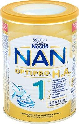 Nestle NAN PRO 1 HA Mleko początkowe w proszku dla niemowląt, wzbogacone w żelazo