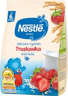 Nestle kaszka mleczno-ryżowa z truskawkami