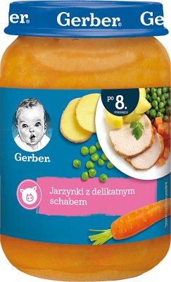 Gerber obiadek Jarzynki z delikatnym schabem
