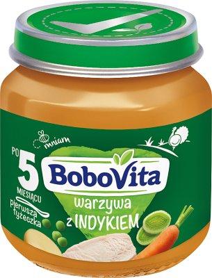 BoboVita obiadek warzywa z aromatycznym indykiem