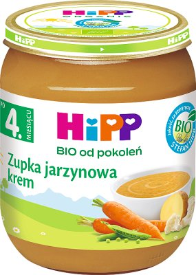 Zupka jarzynowa - krem BIO