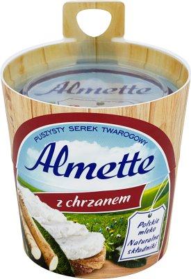 , Almette fromage crémeux avec du raifort