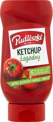 Pudliszki ketchup bez konserwantów  łagodny