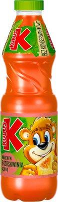 Kubuś sok marchew - brzoskwinia - jabłko