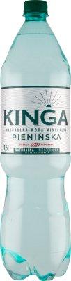 Kinga Pienińska niskosodowa woda mineralna naturalnie gazowana
