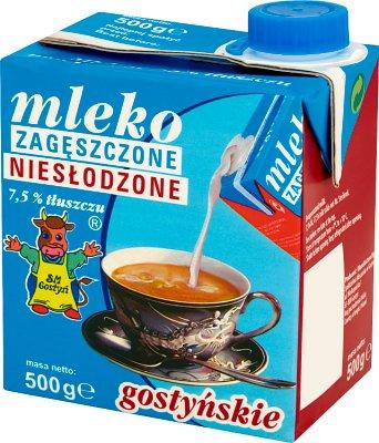 condensed milk 7.5 % fat