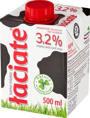 grasa de la leche 3,2 %