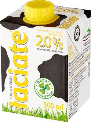 Łaciate mleko 2% tłuszczu UHT