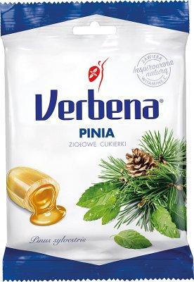 Verbena cukierki  Pinia ziołowe z witaminą C