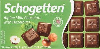 Schogetten czekolada  Orzechowa