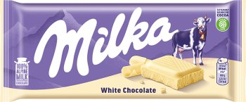 Milka czekolada  Biała Biała