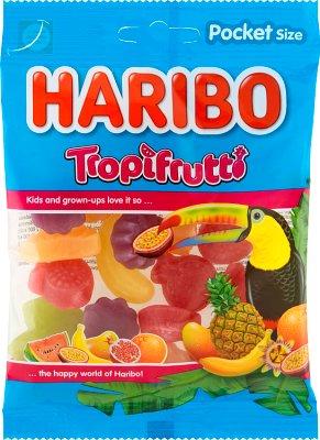 Haribo żelki 100g Tropifrutti o smaku owoców tropikalnych