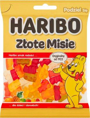 Haribo żelki  Złoty Miś o smaku owocowym