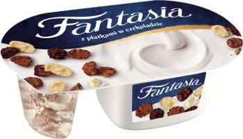 Danone Fantasia jogurt z płatkami czekoladowymi
