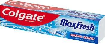 Colgate MaxFresh pasta do zebów mocno miętowa  z orzeźwiającymi kryształkami