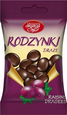 sugared raisins