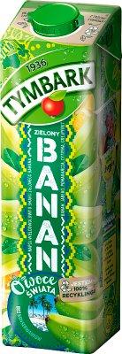Tymbark Owoce Świata napój zielony banan i pomarańcza