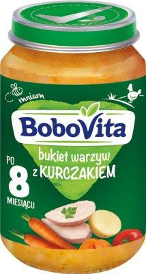 BoboVita obiadek bukiet warzyw z kurczakiem