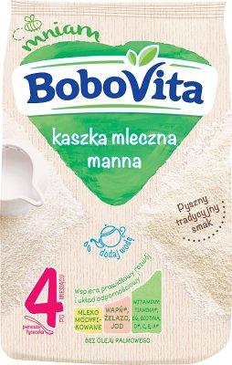 BoboVita kaszka manna na mleku modyfikowanym