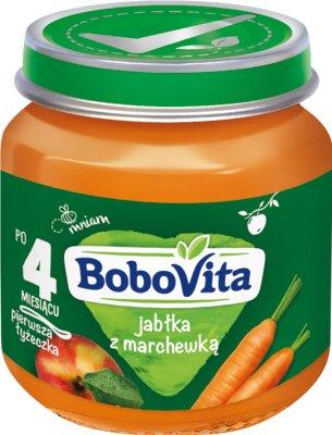 BoboVita deser jabłka ze słodką marchewką