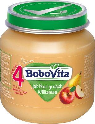 BoboVita deser jabłka i soczyste gruszki