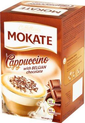 Mokate Caffetteria Cappuccino  z belgijską czekoladą 10x15g
