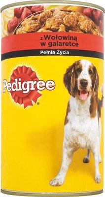 Pedigree karma dla psów dorosłych, puszka z wołowiną