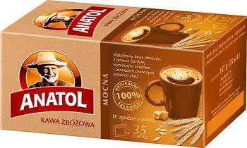Anatol Delecta kawa zbożowa Mocna, 35 saszetek
