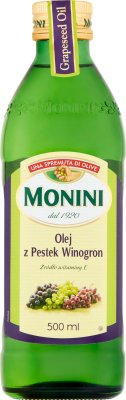 huile de pépins de raisin Monini huile de pépins de raisin