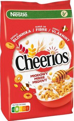 Nestle cheerios płatki śniadaniowe  miodowe