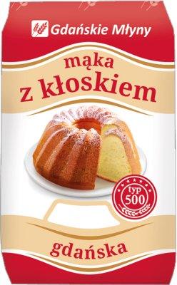 Molinos de harina de Gdansk con una espiga de Gdansk
