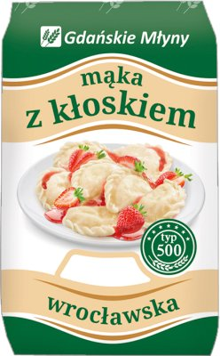 Gdańskie Młyny Mąka z kłoskiem  wrocławska