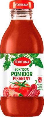 Fortuna sok pomidorowy tabasco