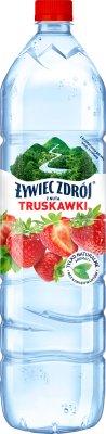 Żywiec Zdrój Smako-Łyk woda źródlana niegazowana smakowa truskawkowa