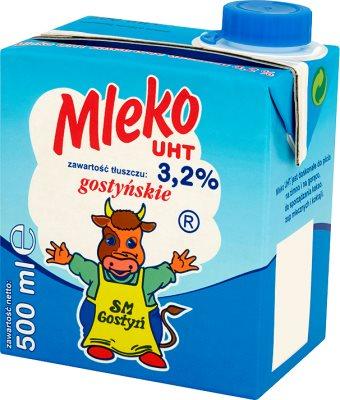 SM Gostyń mleko UHT 3,2% tłuszczu