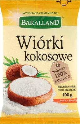Bakalland wiórki kokosowe