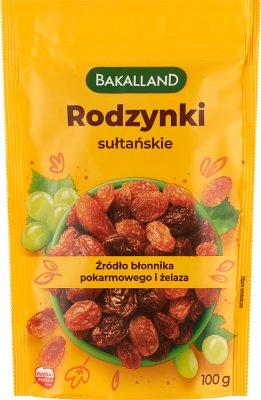 Bakalland rodzynki sułtańskie