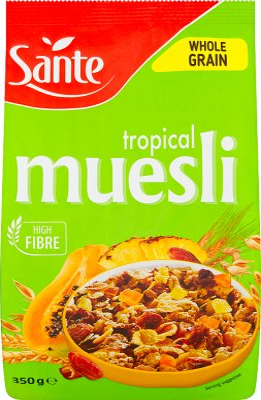 Sante Musli płatki  Tropical