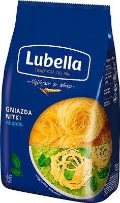 Lubella makaron Gniazda Nitki (Nidi Capellini)