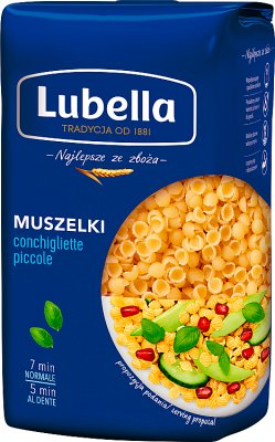 Lubella makaron  małe muszelki nr 26 (Conchigliette rigate)