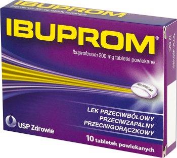 Ibuprom lek przeciwbólowy i przeciwzapalny