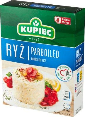 Kupiec ryż parboiled 4 torebki