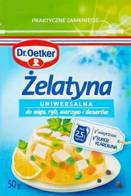 Dr. Oetker gélatine comestible