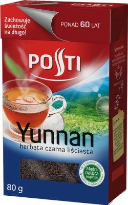 yunnan thé noir feuilles